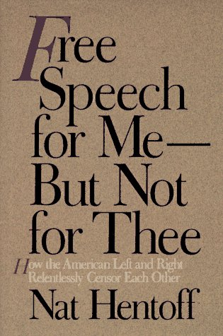 free speech hentoff book
