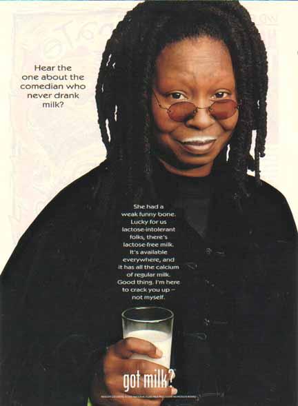 whoopi got milk